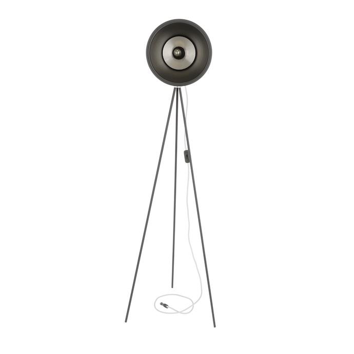 Stojací lampa kovová TABOO černá